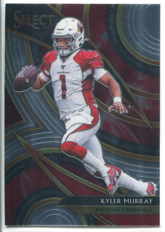 Kyler Murray 2019 Panini Select Sensations Rookie Card
