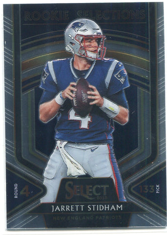 Jarrett Stidham 2019 Panini Select Rookie Selections Card