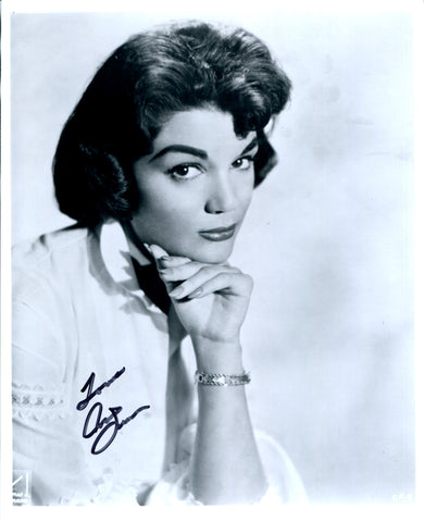 Connie Francis Autographed 8x10 Photo