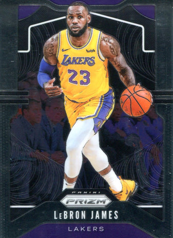 LeBron James 2019-20 Panini Prizm Card