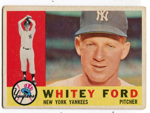 Whitey Ford 1960 Topps Card #35