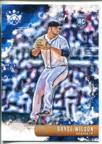 Bryse Wilson 2019 Panini Diamond Kings Rookie Card