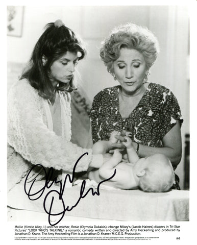 Olympia Dukakis Autographed Look Who's Talking 8x10 Photo