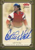 Carlton Fisk 2004 Fleer Greats Autographed Card