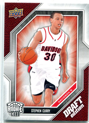 Stephen Curry 2009-10 Upper Deck Rookie Card
