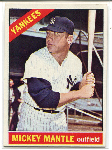 Mickey Mantle 1966 Topps Card #50