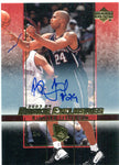 Richard Jefferson 2004 Rookie Exclusive Autographed Card