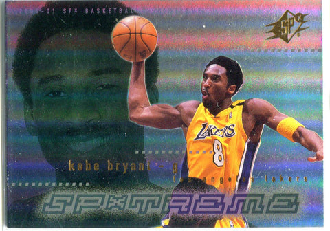 Kobe Bryant 2000 Upper Deck Unsigned Card