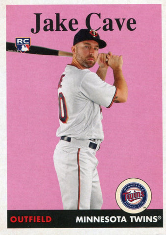 Jake Cave 2019 Topps Archives Rookie Card