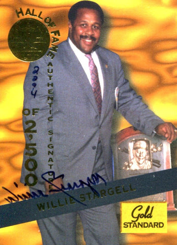 Willie Stargell 1994 Signature Rookies Autographed Card #2294/2500