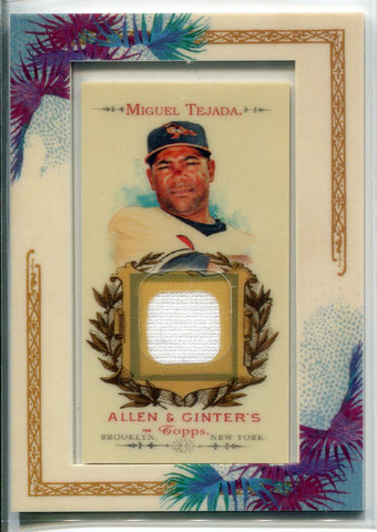 Miguel Tejada 2007 Topps Allen & Ginter Jersey Card