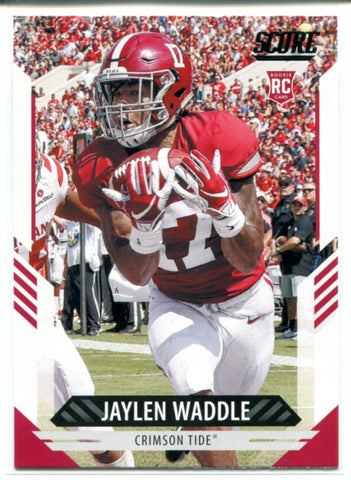 Jaylen Waddle 2021 Panini Score Rookie Card #326