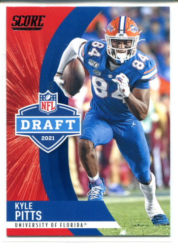Kyle Pitts 2021 Panini Score Rookie Card #D8