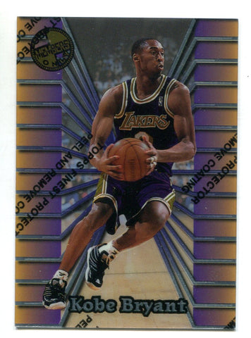 Kobe Bryant 1996 Topps Members Only W/Coating #52 Card
