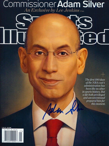 Adam Silver Autographed May 5, 2014 Sports Illustrated Magazine