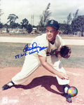 Clem Labine 55 W.S. Winning Pitcher Autographed / Signed 8x10 Photo