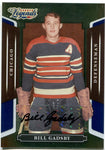 Bill Gadsby 2008 Donruss Sports Legends Autographed Card #120/250