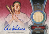 Al Kaline 2012 Topps Five Star Game Used/Autographed Cardd #20/25