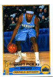 Carmelo Anthony Topps Rookie Card