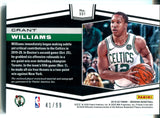 Grant Williams Autographed 2019-20 Panini Obsidian Rookie Jersey Card