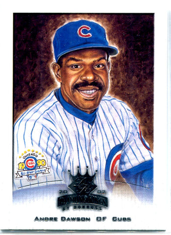 Andre Dawson 2002 Donruss Diamond Kings Unsigned Card
