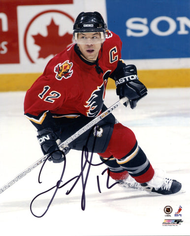 Jarome Iginla Autographed 8x10 Photo