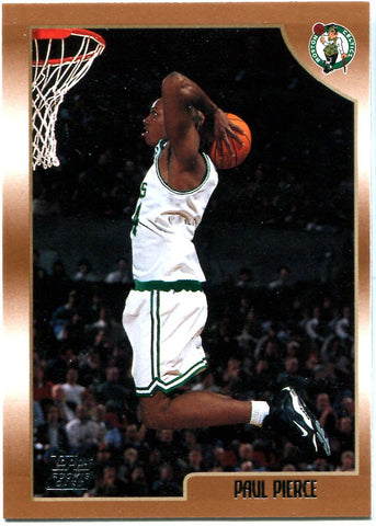 Paul Pierce 1999 Topps Unsigned Rookie Card