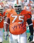 Vince Wilfork Autographed 8x10 Photo