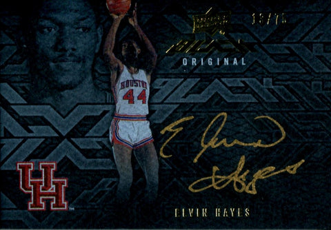 Elvin Hayes 2013 Upper Deck Black Original Autographed Card #13/75