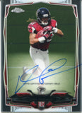 Devonta Freeman Autographed 2014 Topps Chrome Rookie Card #216