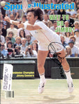 Jimmy Connors Autographed Sports Illustrated Magazine