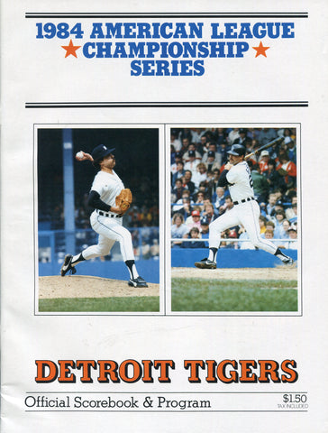 1984 American League Championship Series Program