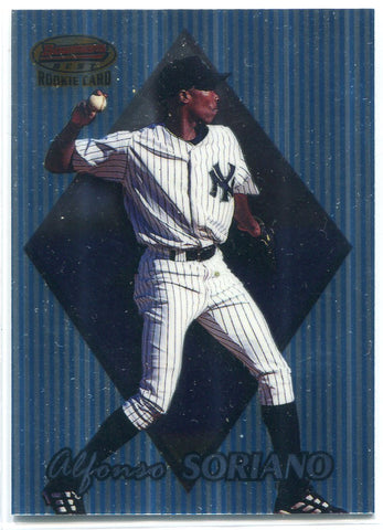 Alfonso Soriano 1999 Topps #169 Bowman's Best Rookie Card
