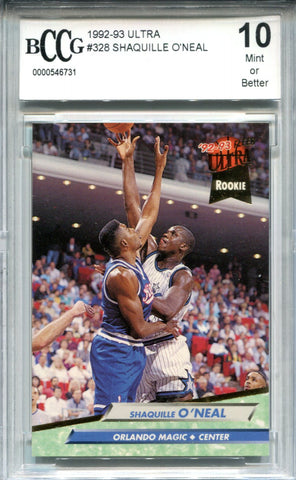 Shaquille O'Neal 1992-93 Fleer Ultra Rookie Card (BCCG)