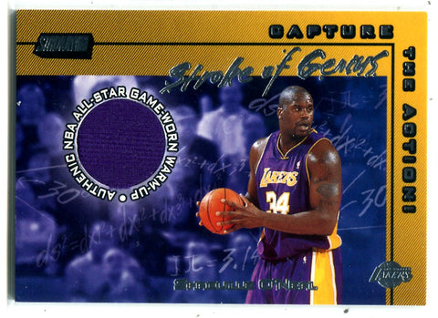 Shaquille O'Neal Topps Stadium Club Stroke Of Genius #SG-SO Card