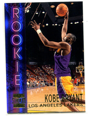 Kobe Bryant Topps Stadium Club 1997 #R9 Card