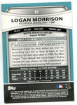Logan Morrison 2010 Bowman Platinum Rookie Card