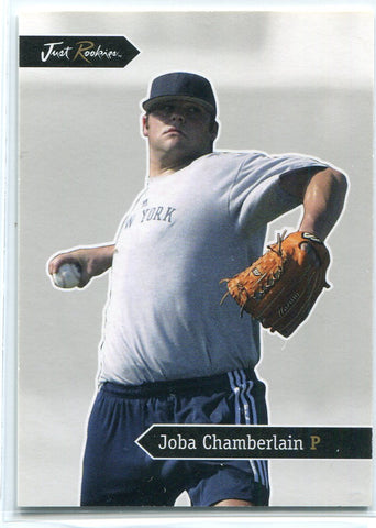 Joba Chamberlain 2005 Just Minors Rookie Card