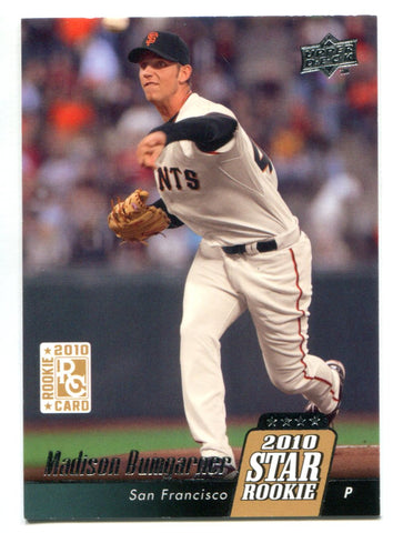 Madison Bumgarner 2010 Upper Deck Rookie Card