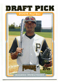 Andrew McCutchen 2005 Topps Rookie Card