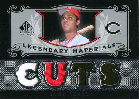 Tony Perez 2007 Upper Deck Sp Legendary Cuts Jersey Card