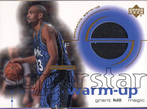 Grant Hill 2001 Upper Deck Jersey Card