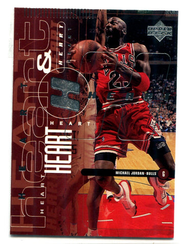 Michael Jordan 1998 Upper Deck Soul Soul #25 Card