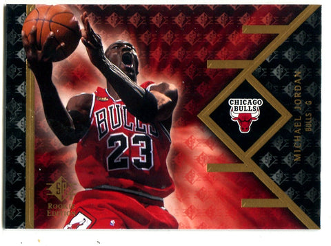 Michael Jordan 2007-08 Upper Deck Sp Rookie Edition #23 Card