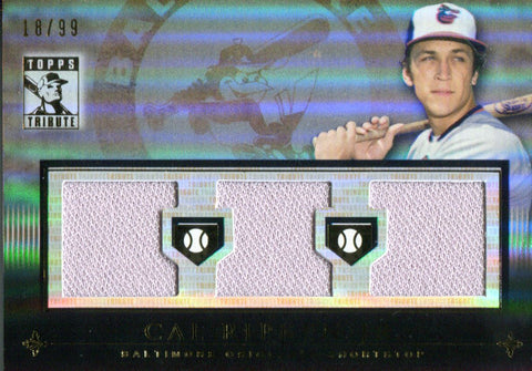 Cal Ripken Jr. 2010 Topps Tribute Jersey Card