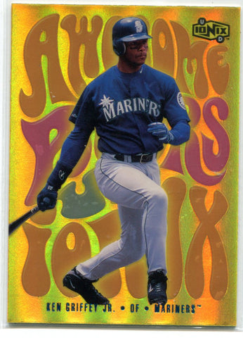 Ken Griffey jr.Upper Deck Ionix Awesome Powers #AP1 Card