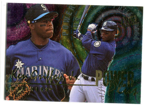 Ken Griffey Jr. 1996 Fleer Ultra Power Play #3 Card