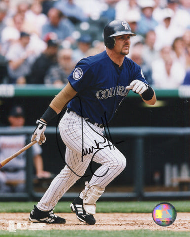 Larry Walker Colorado Rockies Autographed 8x10 Baseball Photo