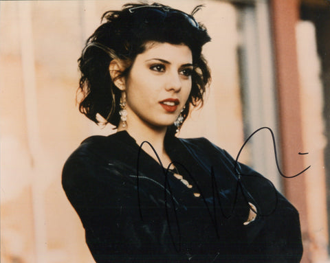 Marisa Tomei Autographed 8x10 Celebrity Photo