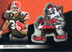 Montario Hardesty 2010 Upper Deck Throwback Patch Card